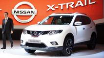 2014 Nissan X-Trail aka Rogue in US live in Frankfurt 10.09.2013