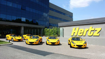 Lotus Elise rental car by Hertz
