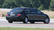 Mercedes Benz S-Class stretched limousine facelift