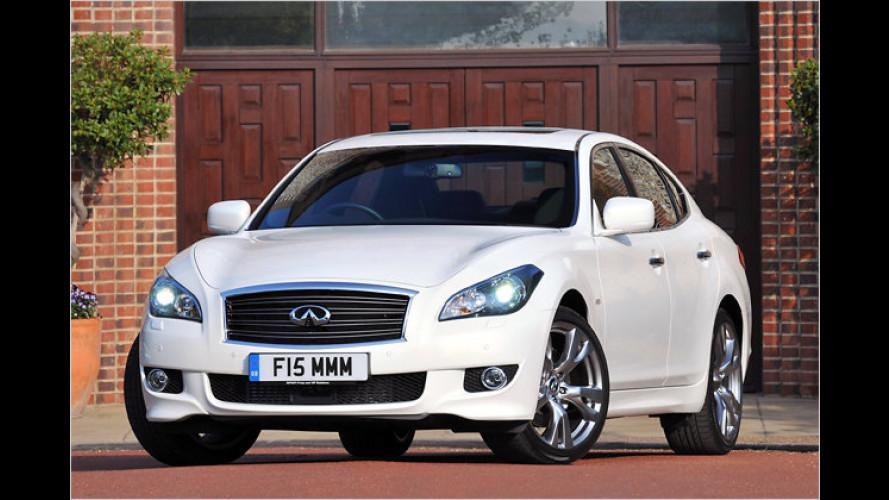 Infiniti M30d: Luxusdiesel exklusiv für Europa