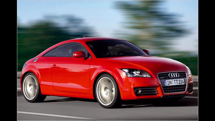 Diesel-Premiere in Genf: Der neue Audi TT 2.0 TDI quattro