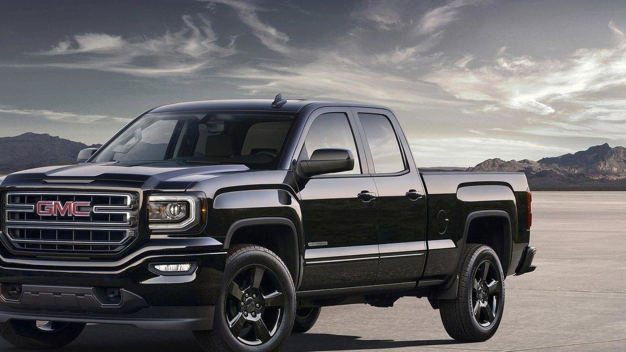 2016 GMC Sierra Elevation Edition
