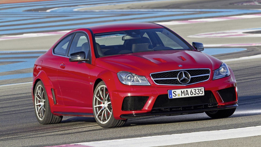 Mercedes-Benz C 63 AMG Coupe Black Series officially revealed