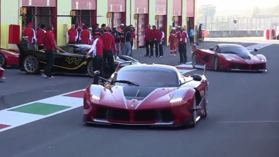 14x Ferrari FXX K at Mugello is what dreams are made of [video]