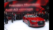 Audi A3 Concept al Salone di Ginevra 2011