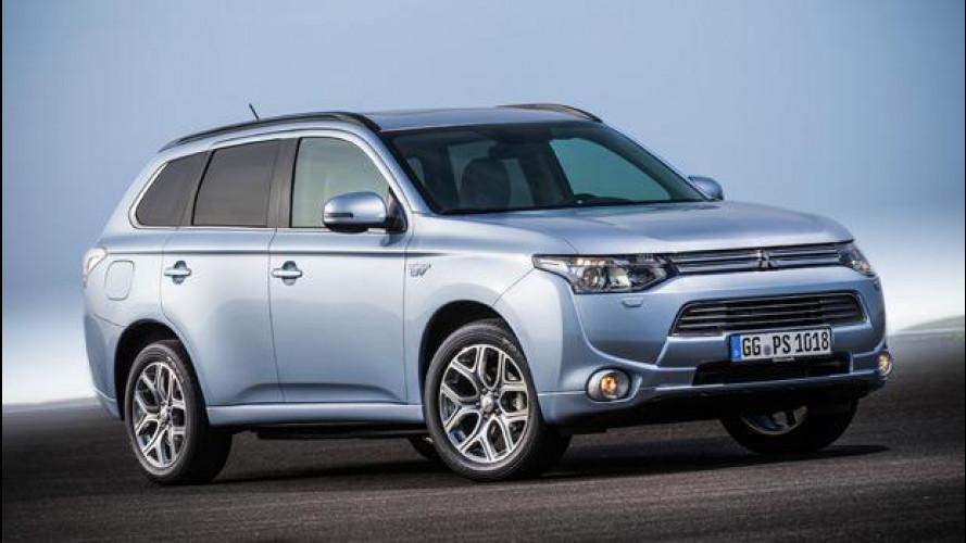 Mitsubishi Outlander Plug-in Hybrid, al via le vendite in Europa