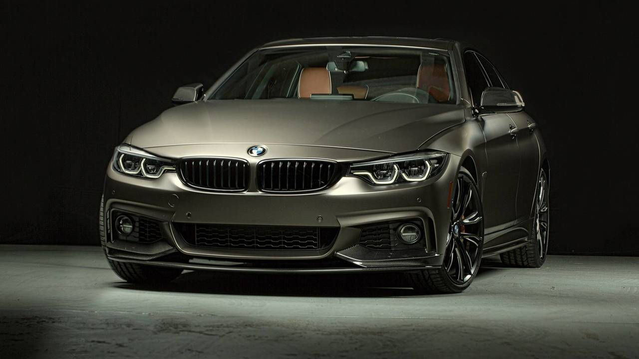 2018 bmw 440i gran coupe with m performance parts photos. Black Bedroom Furniture Sets. Home Design Ideas
