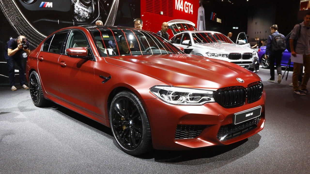 2018 Bmw M5 Motor1 Com Photos