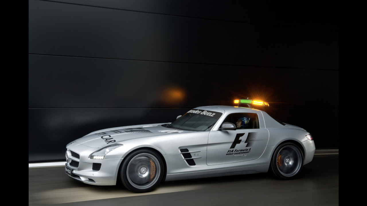 Mercedes SLS AMG F1 safety car