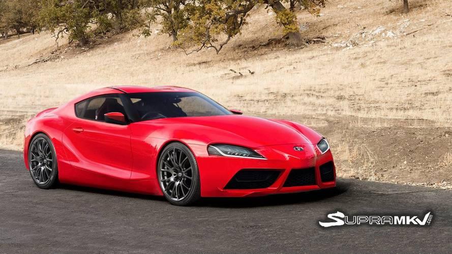Toyota Supra'ya üretime hazır tasarım yorumu