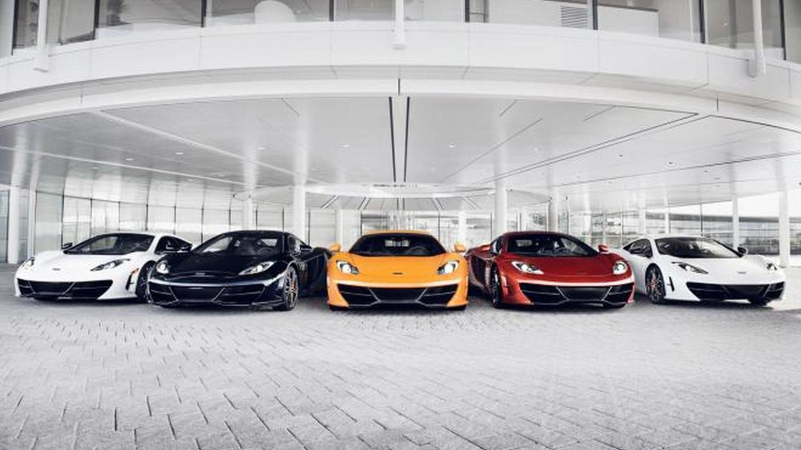 McLaren MP4-12C High Sport: first official photos surface