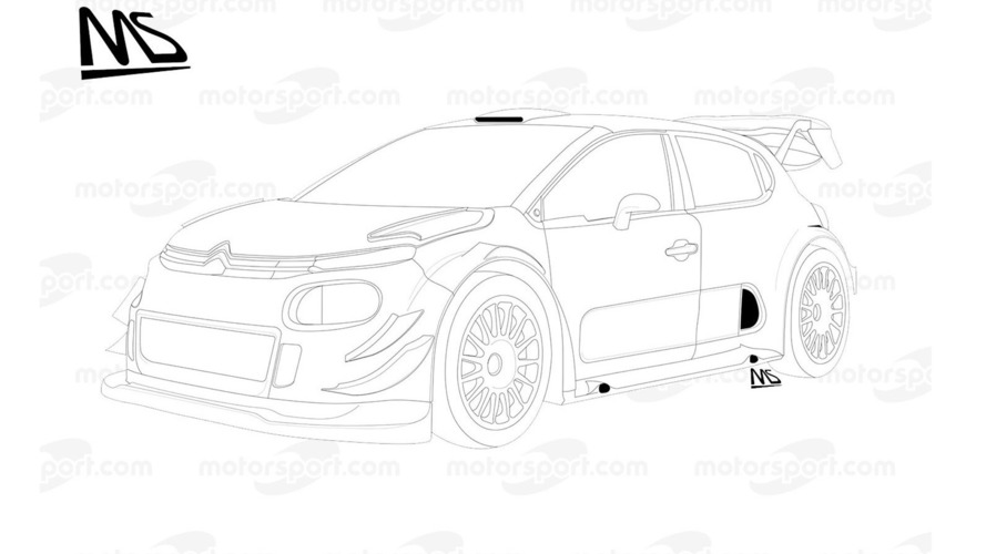 Citroën C3 WRC Plus 2017 detail