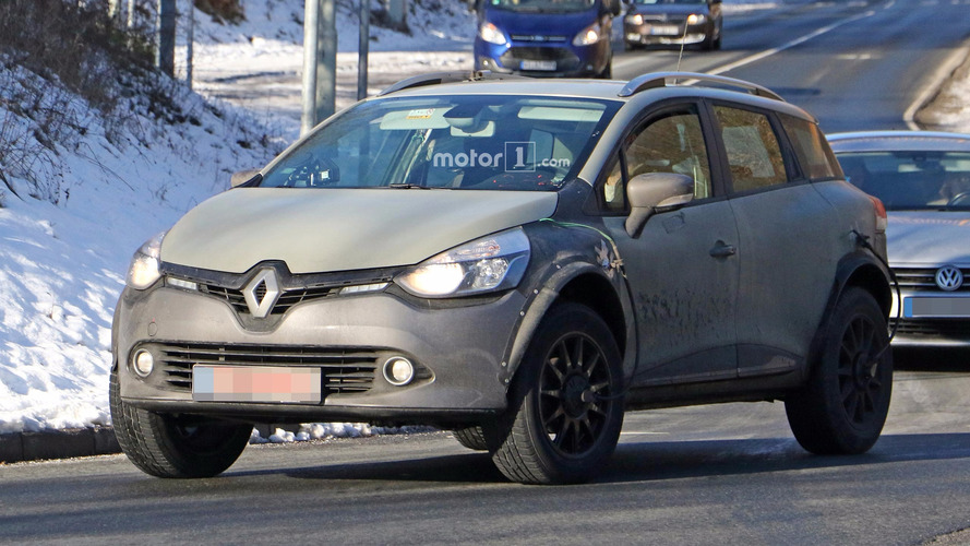 Renault Captur photos espion