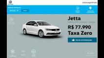 VW Jetta 1.4 TSI automático é vendido por R$ 77.990 em promoção
