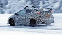 2016 Honda Civic Type R spy photo