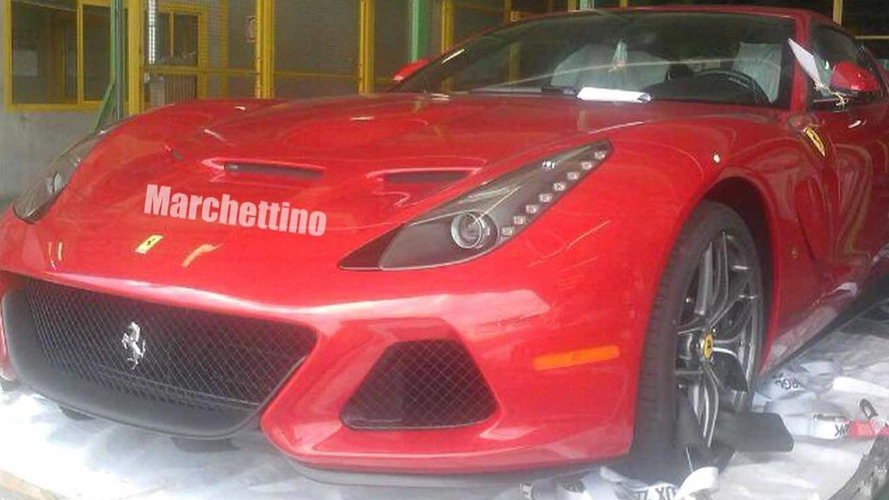 Ferrari SP America one-off spied getting ready for delivery
