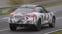 2016 Maserati Levante mule spy photo
