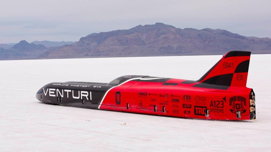 576 km/h – La Venturi VBB-3 bat un nouveau record de vitesse électrique