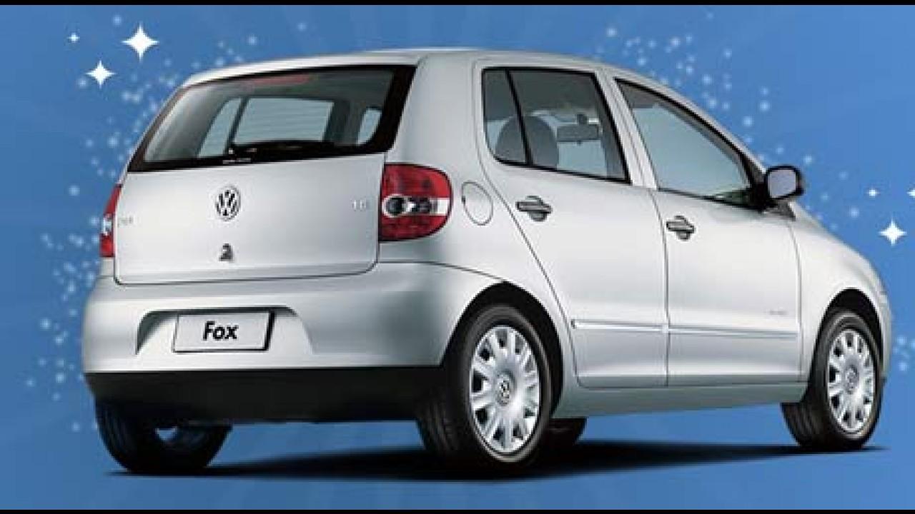 Fox City 2008 - Volkswagen oferece kit promocional com ar e direção