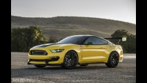Ford Ole Yeller Mustang Shelby GT350