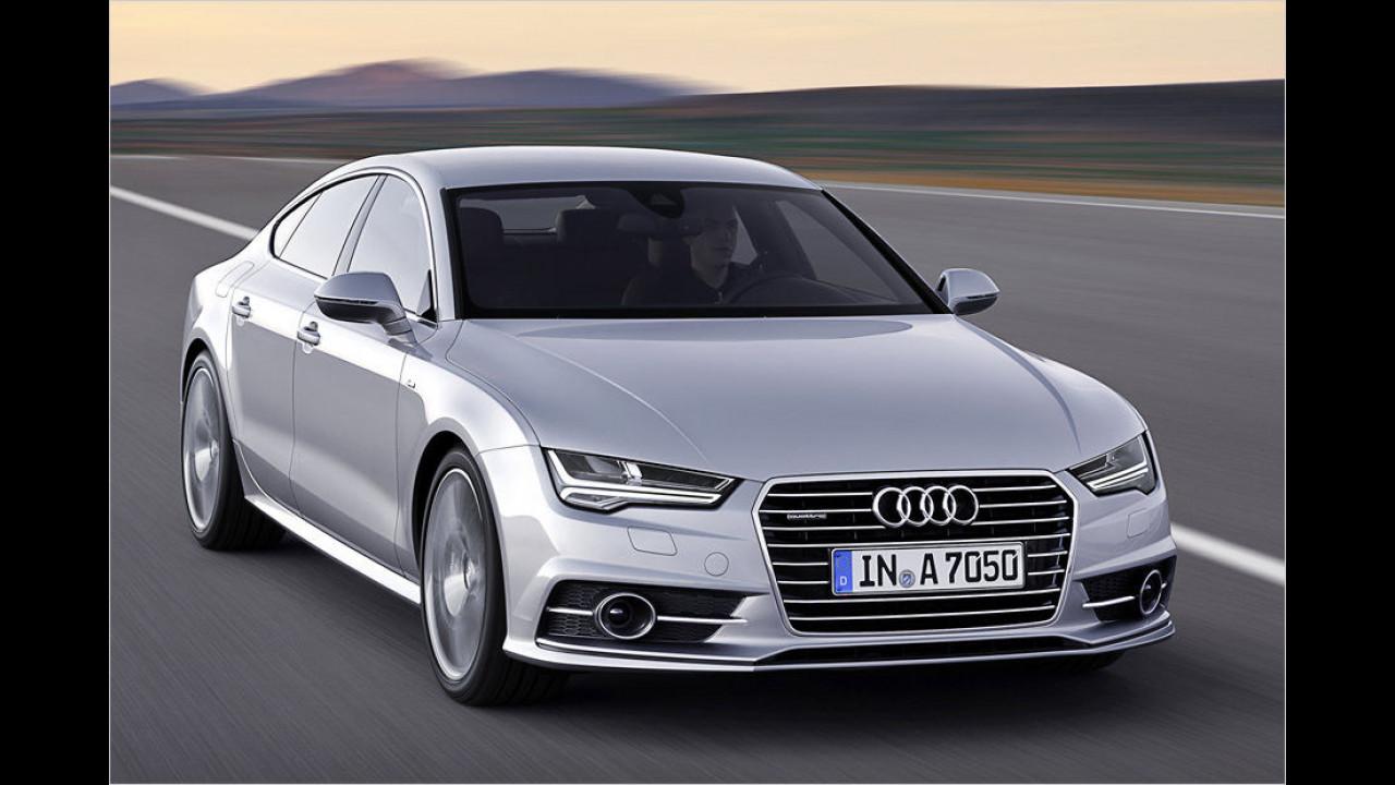 Oberklasse, Platz 3: Audi A7 (2.657 Stück)