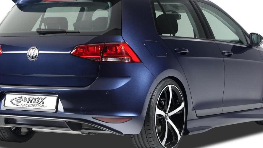Volkswagen Golf VII receives minor styling tweaks from RDX