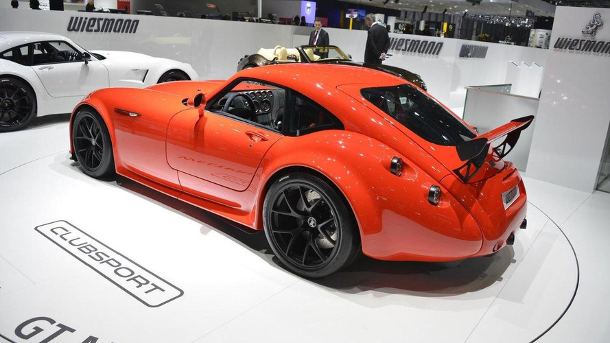 Wiesmann GT MF4-CS officially revealed in Geneva
