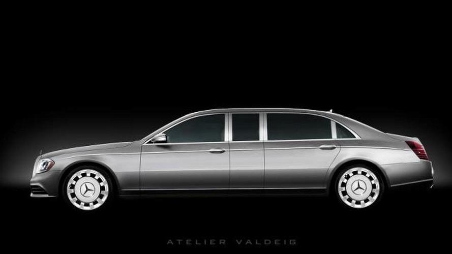 2014 Mercedes-Benz S-Class Pullman digitally imagined