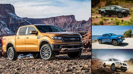 How The Ford Ranger Compares To Its Midsize Truck Rivals
