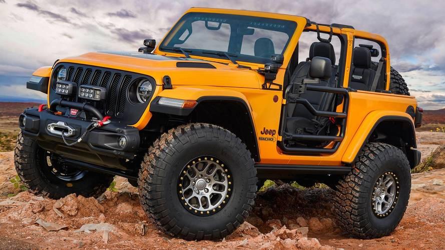 Jeep revela sete conceitos para safari anual em Moab