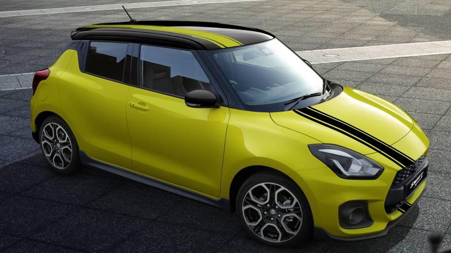 Suzuki Swift Sport BeeRacing, carattere pungente