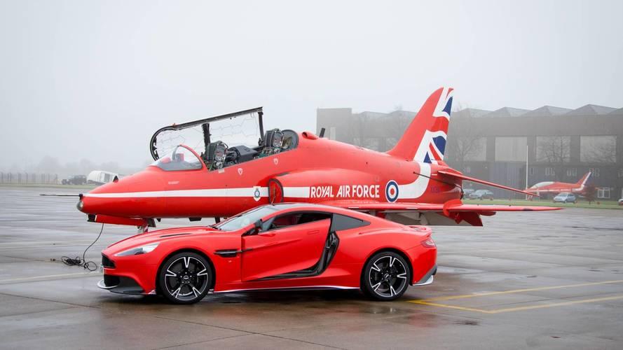 Aston Martin Vanquish S Red10 - L'hommage à la Royal Air Force