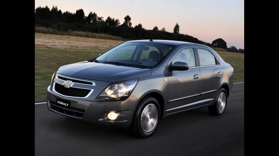 Chevrolet anuncia recall para 2.325 unidades de Cobalt e Spin no Brasil