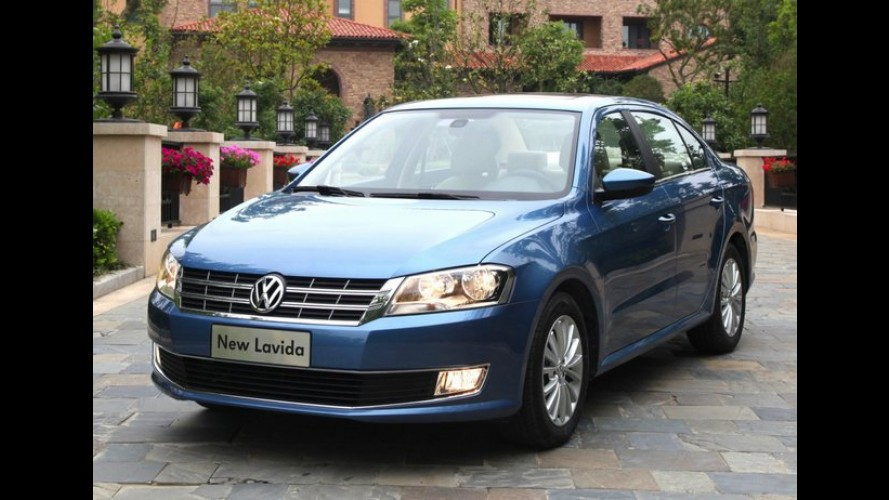 Exclusivo para China: Volkswagen divulga mais imagens do sedã Lavida