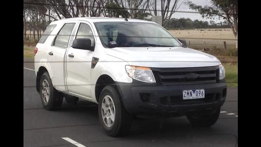 Flagra: veja como será o SUV da Ranger que chega em 2014