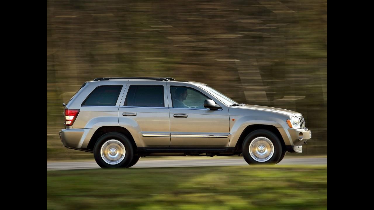 Recall: Jeep chama Grand Cherokee no Brasil por falha no câmbio