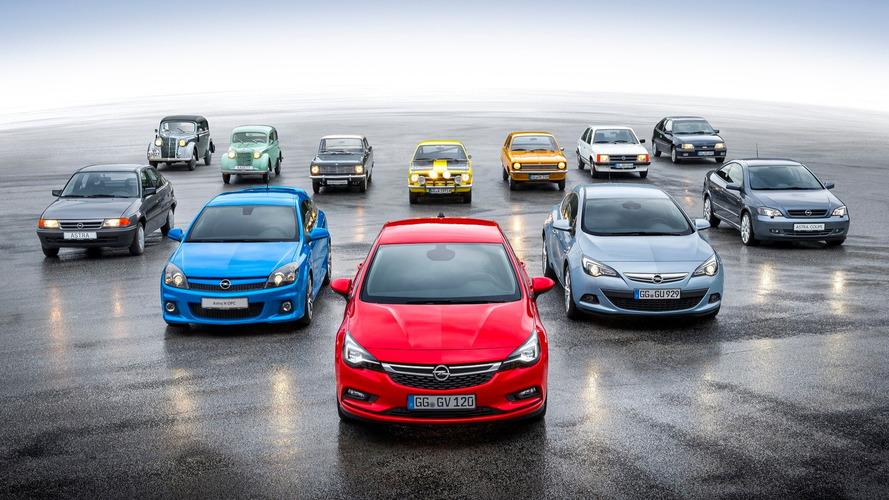 Opel Kadett turns 80 years old after 24 million units sold