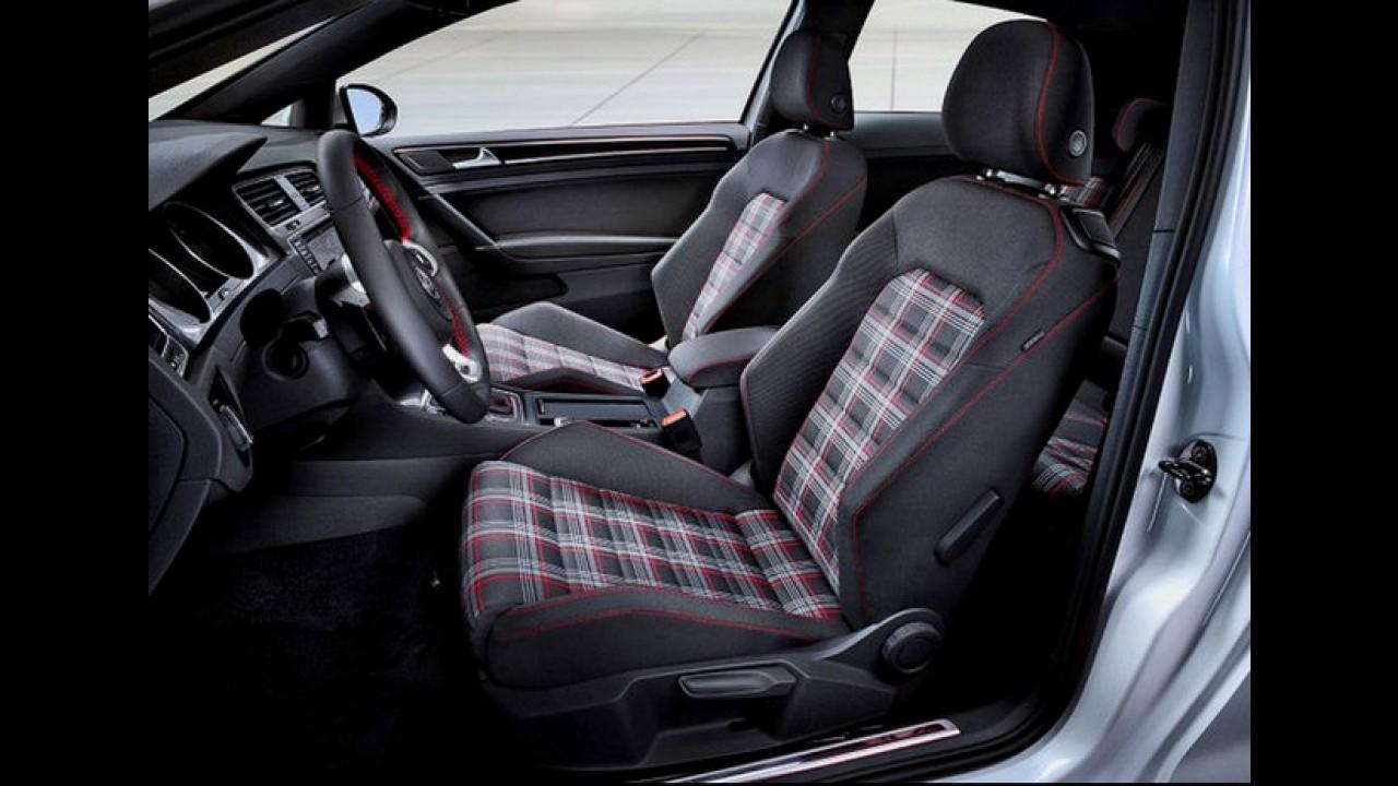 Volkswagen Golf 7 GTI - Veja as primeiras imagens da versão esportiva