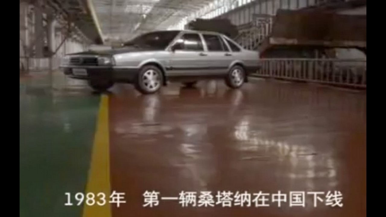 Vídeo: Volkswagen lança comercial do Novo Santana na China