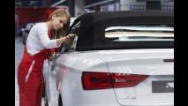 Audi começa a produzir nova geração do A3 Cabriolet na Hungria