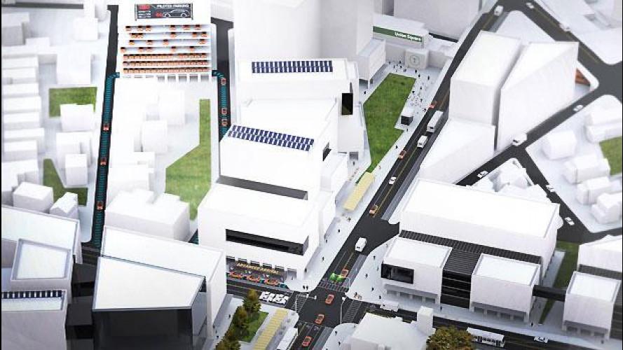 Guida autonoma, per salvare spazio in città arriva il parcheggio pilotato