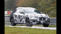 Maserati levante, le foto spia al Nurburgring