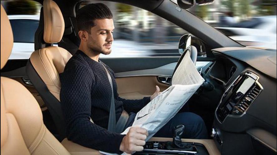 Guida autonoma, una patente anche per le auto?