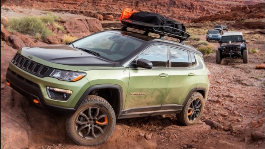 Jeep Easter Safari, sette concept in cerca di avventura