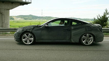 Hyundais New RWD Coupe Spied in Korea