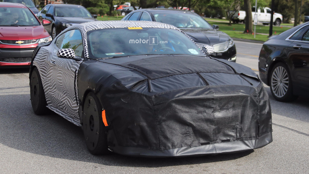 Spy Pics Of Mystery Mustang Could Show New GT500