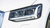 Audi Q2 2017 blanco, prueba