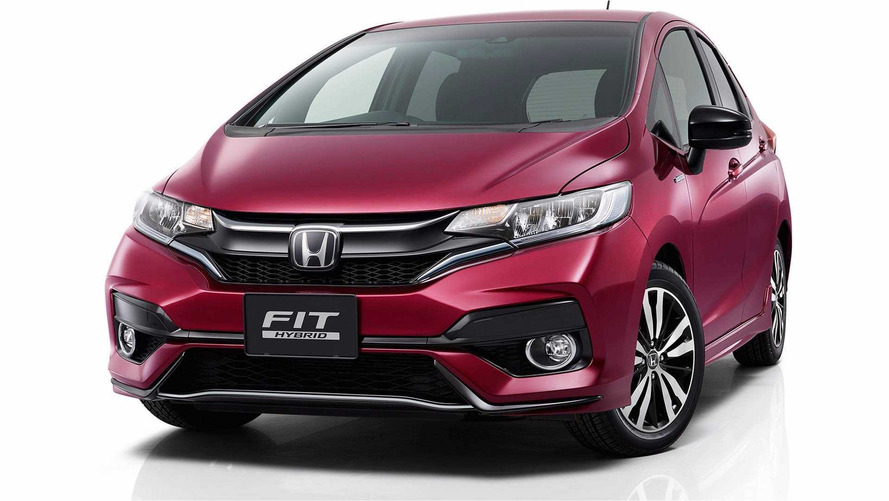 Refreshed Honda Fit Stays In Shape In Leaked Photos