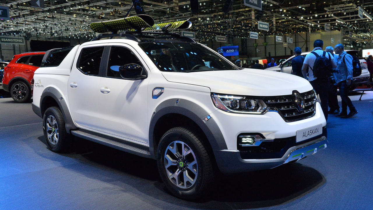 Renault Alaskan is a less glitzy Mercedes X-Class