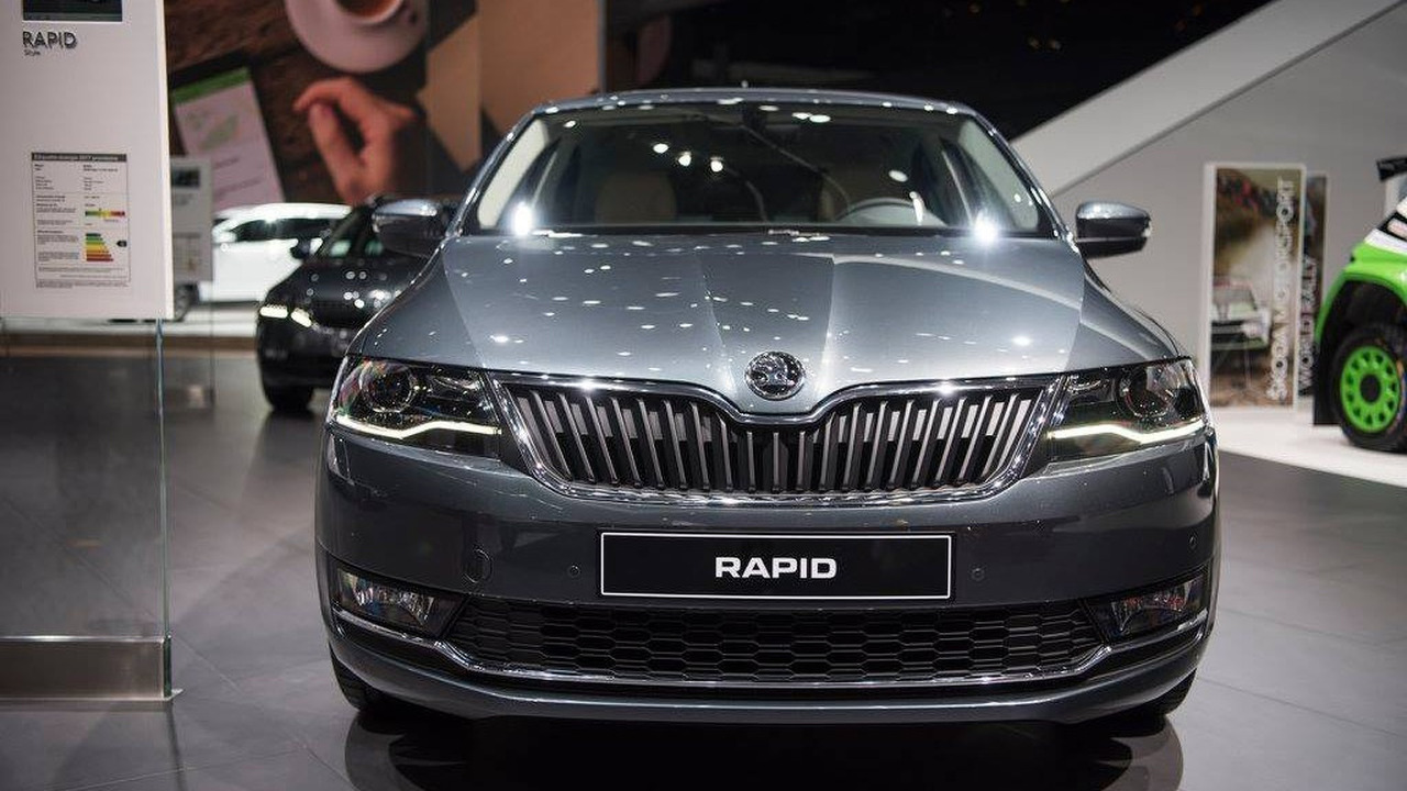 2017 skoda rapid rapid spaceback facelift photos. Black Bedroom Furniture Sets. Home Design Ideas